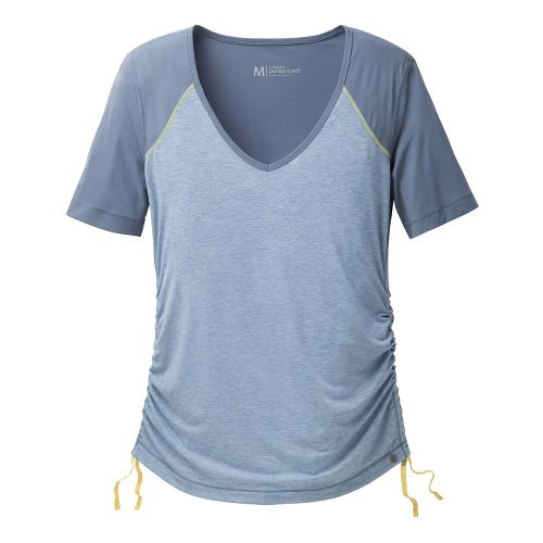 Womens Brooks PureProject Short Sleeve Technical Tops - Storm S