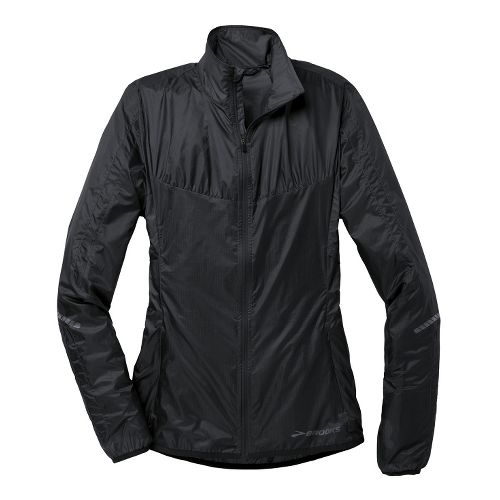 Womens Brooks LSD Lite IV Running Jackets - Black M