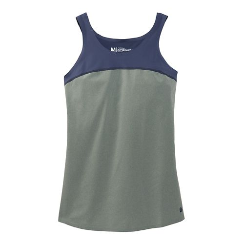 Womens Brooks Pureproject Sleeveless II Tanks Technical Top - Watercolor/Midnight XS