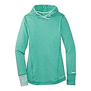 Womens Brooks Essential Long Sleeve No Zip Hoodie Technical Top
