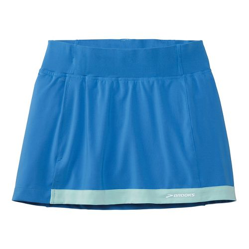 Womens Brooks Versatile Skort Fitness Skirts - Cornflower M