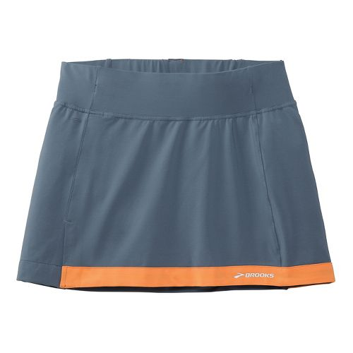 Womens Brooks Versatile Skort Fitness Skirts - Midnight Blue XS