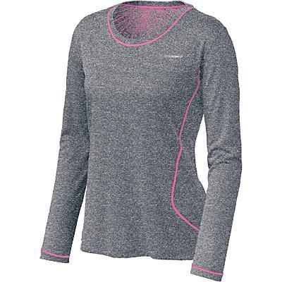 Womens Brooks Versatile EZ Long Sleeve No Zip Technical Tops