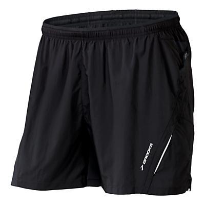 """Mens Brooks Infiniti Notch 5"""" 2-in-1 Shorts"""