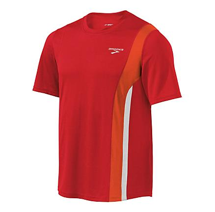 Mens Brooks Rev Short Sleeve II Technical Tops