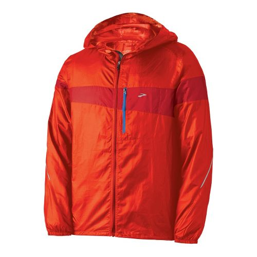 Mens Brooks L.S.D. Lite III Running Jackets - Blaze M