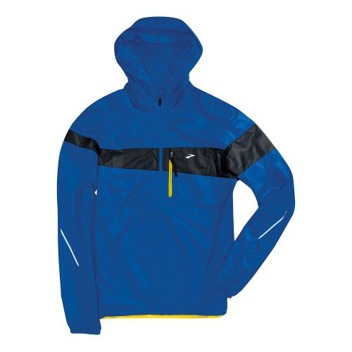 Mens Brooks L.S.D. Lite III Running Jackets - Electric Blue/Midnight M