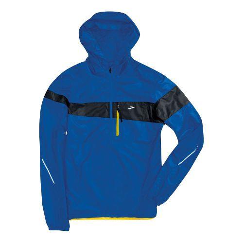 Mens Brooks L.S.D. Lite III Running Jackets - Electric Blue/Midnight XL