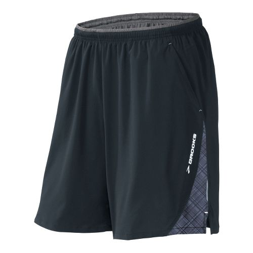 Mens Brooks Rogue Runner III Lined Shorts - Dark Grey XL