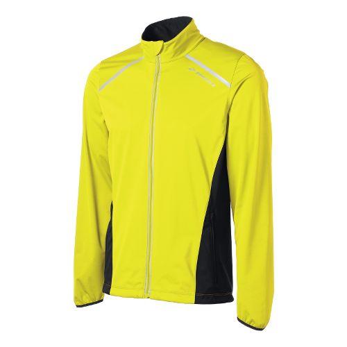 Mens Brooks Infiniti IV Running Jackets - Yellow L