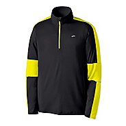 Mens Brooks Nightlife Essential Long Sleeve 1/2 Zip Technical Tops