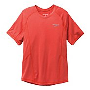 Mens Brooks Essential Short Sleeve Technical Tops