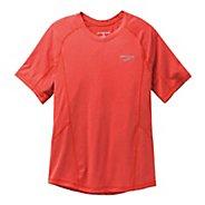 Mens Brooks Essential Short Sleeve Technical Tops
