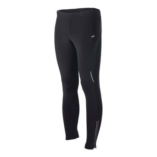 Mens Brooks Utopia Thermal II Fitted Tights - Black L