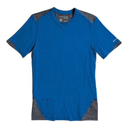 Mens Brooks PureProject Short Sleeve Technical Top - Electric/Anthracite M