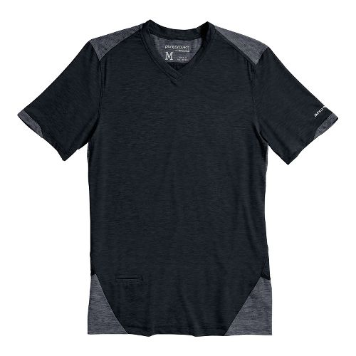 Mens Brooks PureProject Short Sleeve Technical Tops - Graphite L