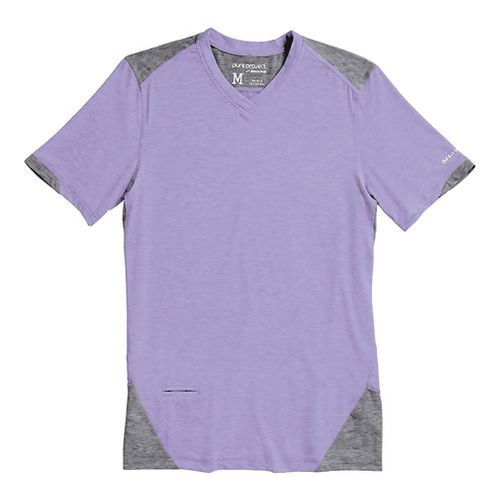 Mens Brooks PureProject Short Sleeve Technical Top - Prince/Anthracite XS