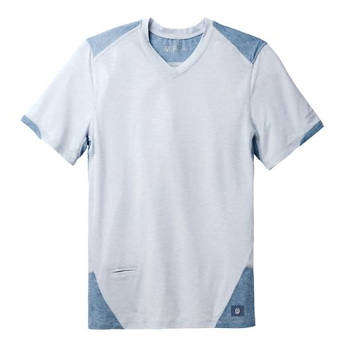 Mens Brooks PureProject Short Sleeve Technical Top - Sterling/Storm M