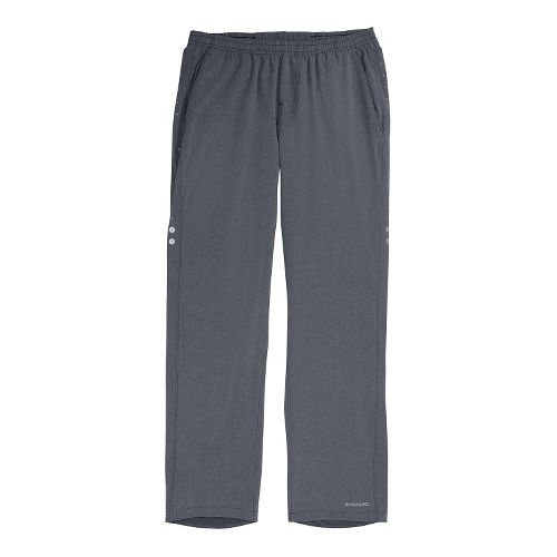 Mens Brooks PureProject Full Length Pants - Graphite/Heather M