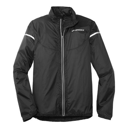 Mens Brooks LSD Lite IV Running Jackets - Black L
