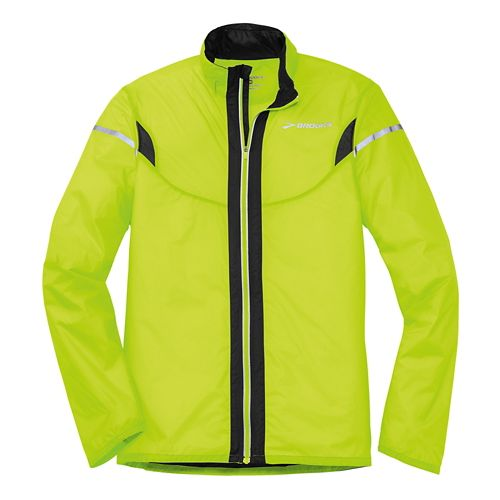 Mens Brooks LSD Lite IV Running Jackets - Nightlife XS