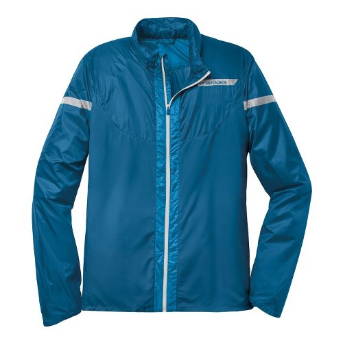 Mens Brooks LSD Lite IV Running Jackets - Orion Blue L