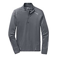 Mens Brooks Infiniti Long Sleeve 1/2 Zip Technical Tops