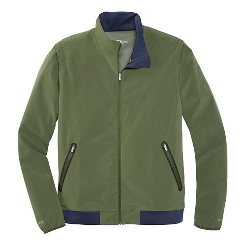 Mens Brooks Pureproject Running Jacket II - Olive S