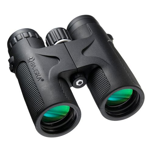 Barska 10X42 Blackhawk WP Binoculars Fitness Equipment - Black