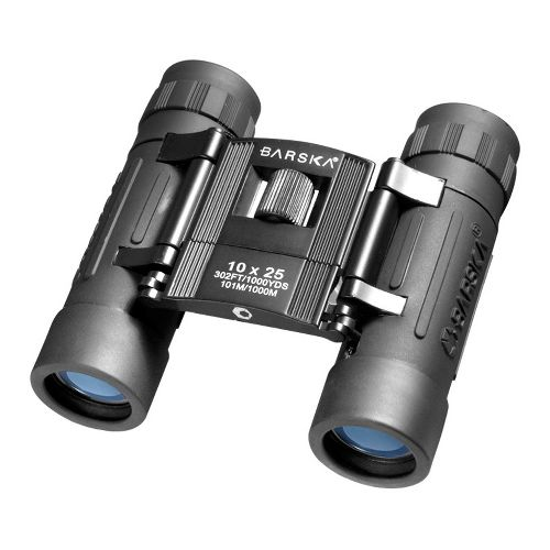 Barska 10x25 Lucid View Binoculars Fitness Equipment - Black