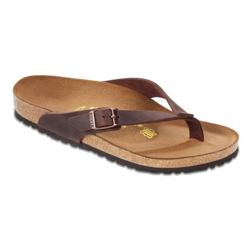Womens Birkenstock Adria Sandals Shoe - Habana Oiled Leather 37