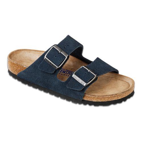 Birkenstock Arizona Soft Footbed Sandals Shoe - Denim 40