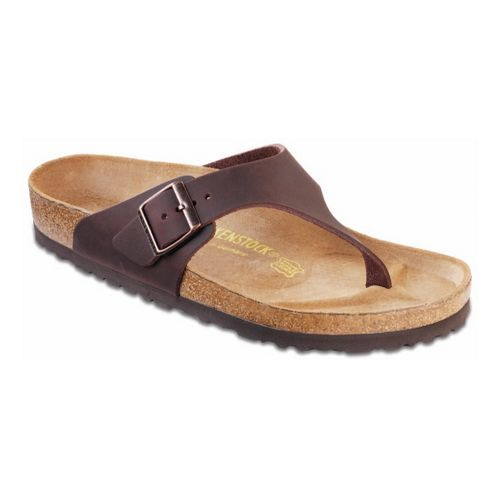 Mens Birkenstock Como Sandals Shoe - Habana Oiled Leather 42