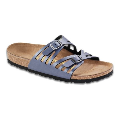 Womens Birkenstock Granada Sandals Shoe - Onyx 37
