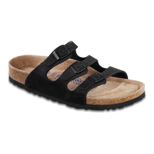 Womens Birkenstock Florida Sandals Shoe - Black 37
