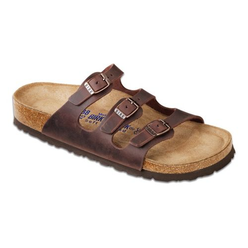 Womens Birkenstock Florida Sandals Shoe - Habana 38
