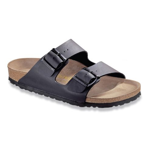 Birkenstock Arizona Birko-Flor Sandals Shoe - Black Birko-Flor 36