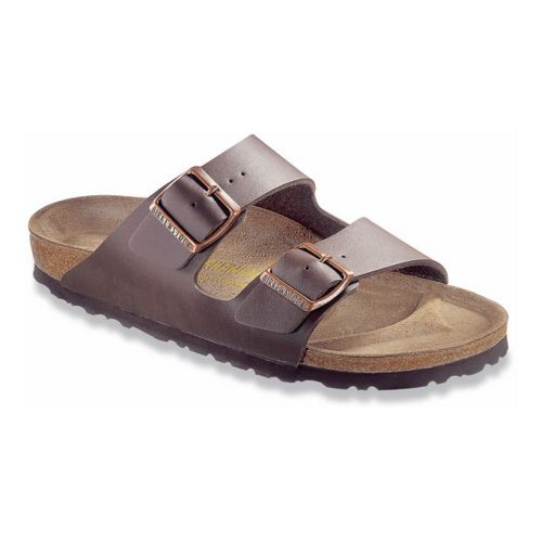 Birkenstock Arizona Birko-Flor Sandals Shoe - Dark Brown Birko-Flor 35