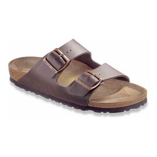 Birkenstock Arizona Birko-Flor Sandals Shoe - Dark Brown Birko-Flor 42