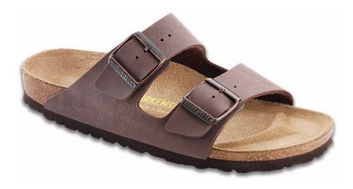 Birkenstock Arizona Birko-Flor Sandals Shoe - Mocha Birkibuc 42