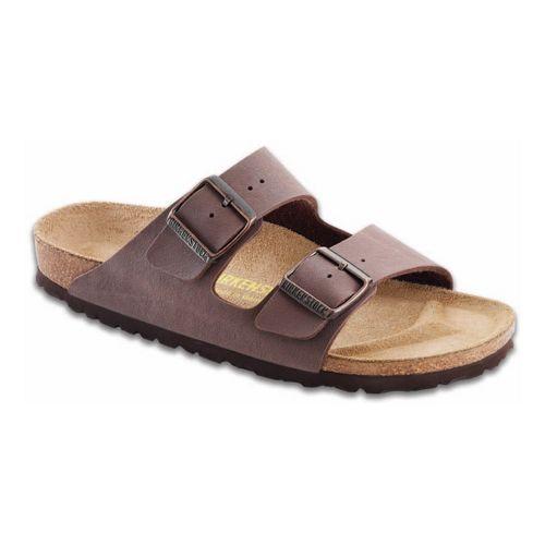 Birkenstock Arizona Birko-Flor Sandals Shoe - Mocha Birkibuc 36