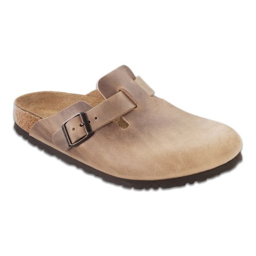 Birkenstock Boston Casual Shoe - Tobacco Oiled Leather 43