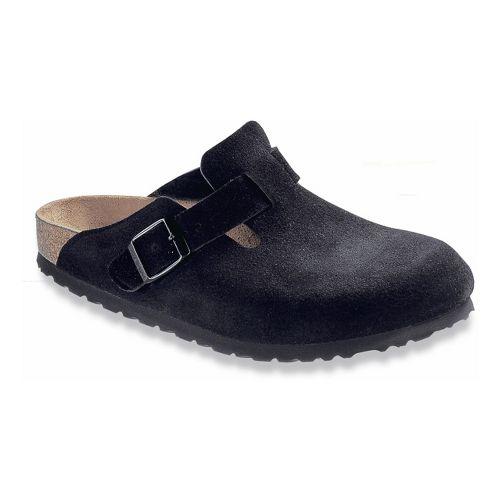 Birkenstock Boston Soft Footbed Casual Shoe - Black 39