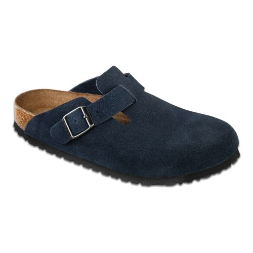 Birkenstock Boston Soft Footbed Casual Shoe - Denim 42