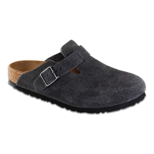 Birkenstock Boston Soft Footbed Casual Shoe - Grey 41