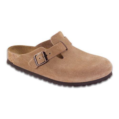 Birkenstock Boston Soft Footbed Casual Shoe - Jasper Suede 42