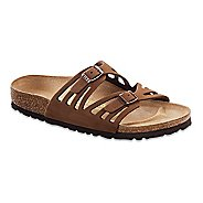 Womens Birkenstock Granada Soft Footbed Leather Sandals Shoe