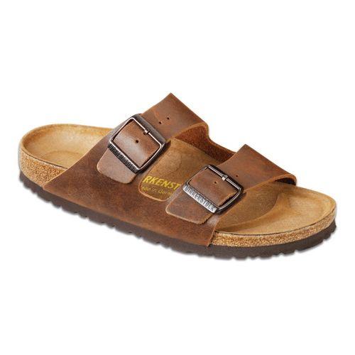 Birkenstock Arizona Sandals Shoe - Antique Coconut 46
