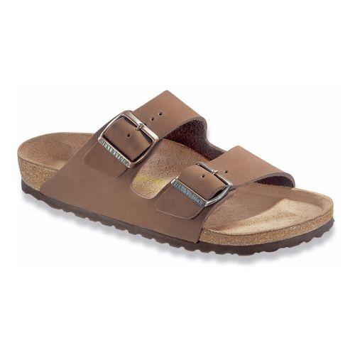 Birkenstock Arizona Sandals Shoe - Cocoa Nubuck 46