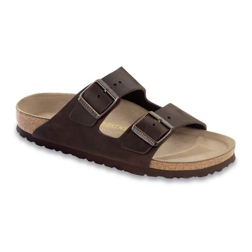 Birkenstock Arizona Sandals Shoe - Habana Oiled Leather 46